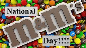 National M&M Day Wishes Unique Image