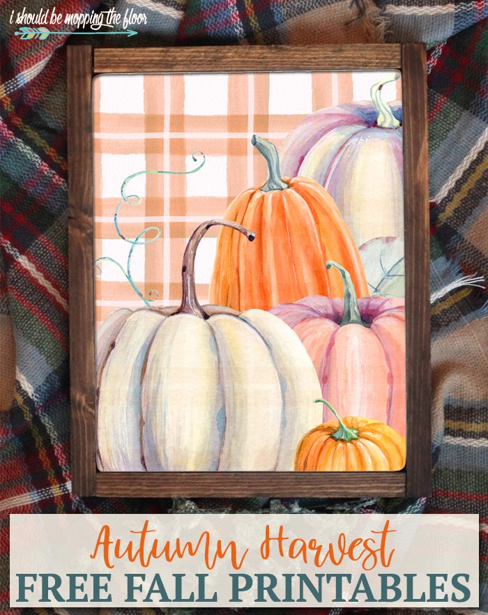 Free Autumn Harvest Printables