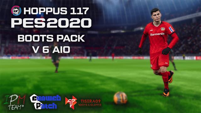 Hoppus117 Boots Pack V6 For eFootball PES 2020