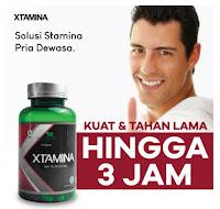 XTAMINA Suplemen Herbal Stamina Pria Dewasa - Jamu Kuat Tahan Lama - Penyubur Alat Vital / BPOM MUI