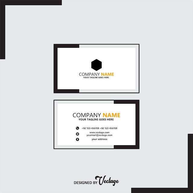 company business card design,