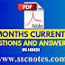 Last 6 Months Current Affairs 2020 one liner in Hindi PDF Download