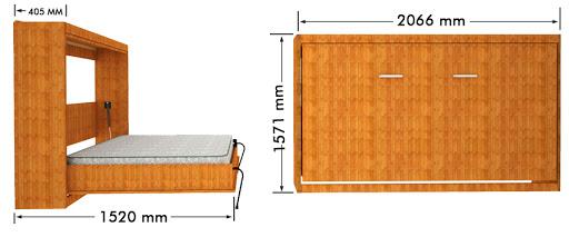 Jual murphy bed