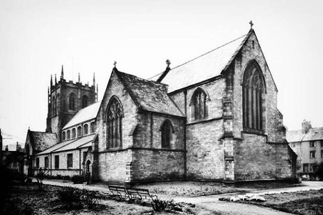 Rear View Of St. Nicholas Church