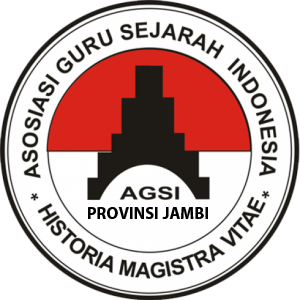 Logo Asosiasi Guru Sejarah Indonesia (AGSI) Provinsi Jambi