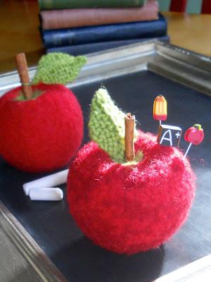 marie mayhew apple pincushion pattern