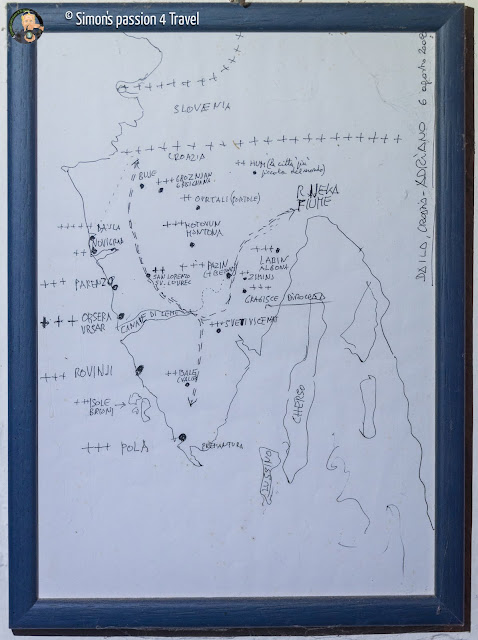 mappa di adriano