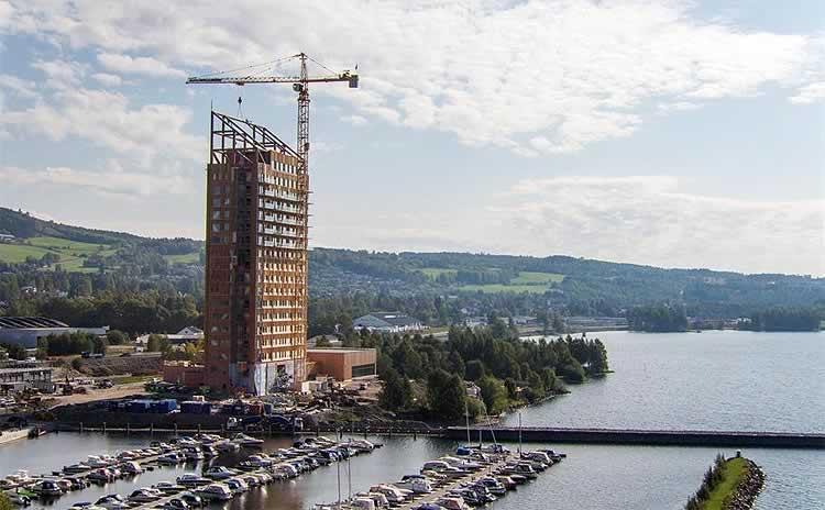 El auge de los edificios y rascacielos de madera