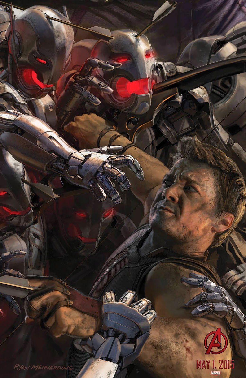 News and rumors on Hawkeye from Avengers Age of Ultron