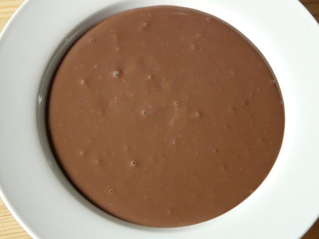 puding silky cokelat