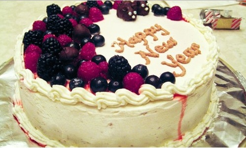 happy new year cake recipe