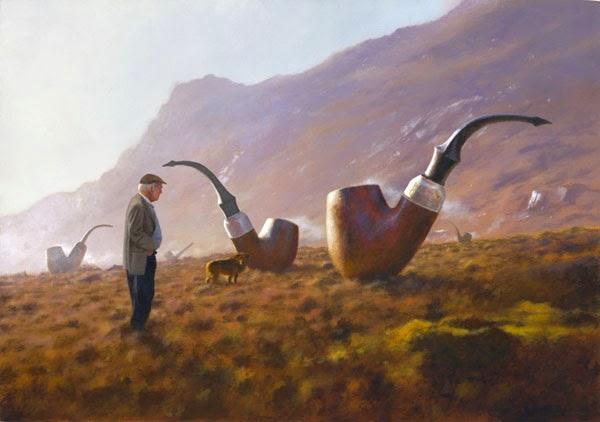Cachimbos - Um mundo encantador pintado por Jimmy Lawlor