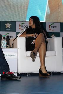 Ekta Kapoor Anurag Kashyap & Ramesh SippyAt at FICCI FRAMES 2017  0017.JPG