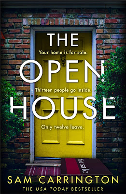 The Open House by Sam Carrington book cover