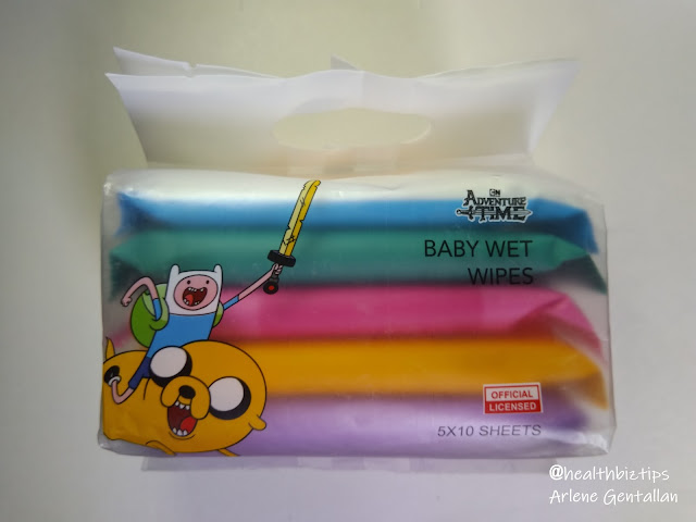 Miniso Adventure Time Baby Wet Wipes Review | Healthbiztips