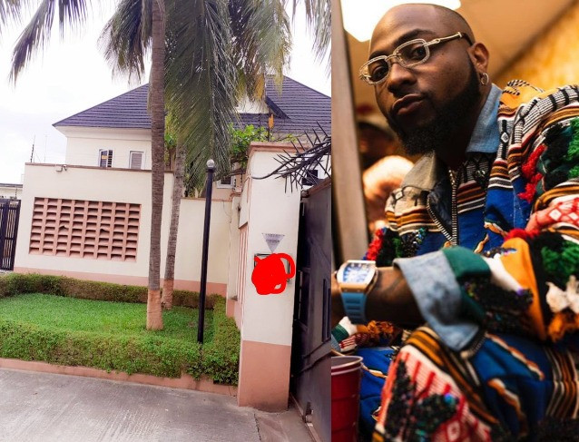 Davido says he just bought a house for his staff