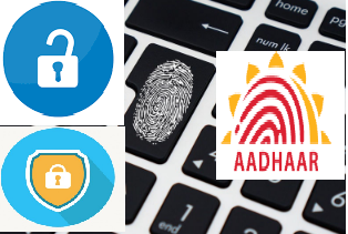 Aadhar card Biometric details lock/unlock online