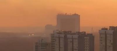 Συναγερμός στην Ρωσία – Ξέσπασε φωτιά σε κτίριο της ρωσικής Αντικατασκοπείας στην Μόσχα