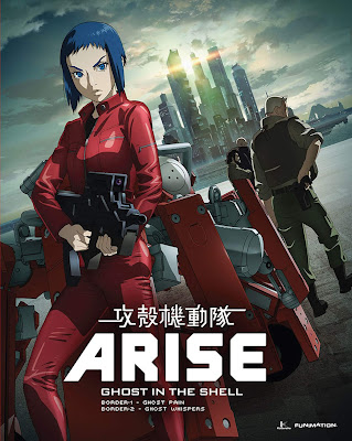 Film Ghost in the Shell Arise – Border 2: Ghost Whispers ( 2013)