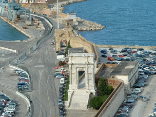 The 18m high Roman arch of Trajan still stands guard over the harbour at Ancona, which Trajan built during his reign