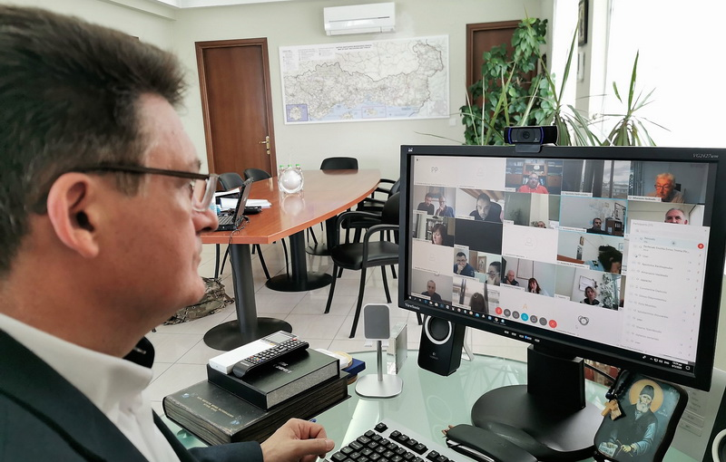 Συνεδρίασε με τηλεδιάσκεψη το Συντονιστικό Όργανο Πολιτικής Προστασίας Έβρου
