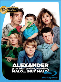 Alexander y el día terrible, horrible, malo… ¡muy malo! (2014) HD [1080p] Latino [GoogleDrive] SilvestreHD