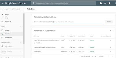 Kirimkan sitemap XML Anda ke Google