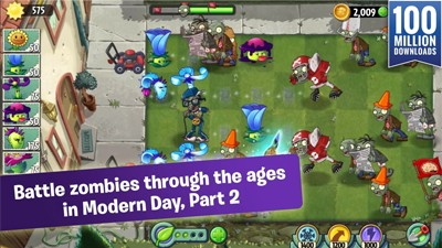 Plants vs Zombies 2 Modern Day Part 2