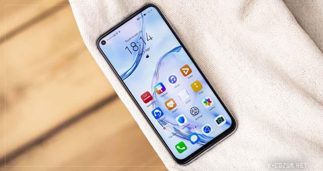 Huawei P40 Lite ekranı