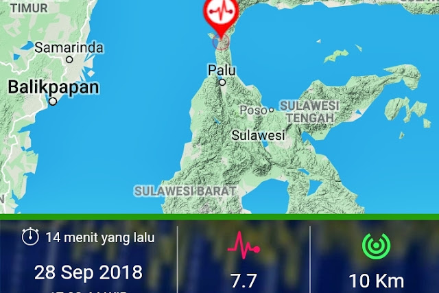 Beberapa Hari ke Depan Gempa Susulan Masih Guncang Sulteng