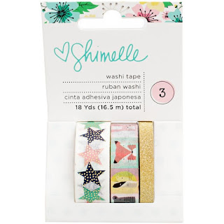 American Crafts - Shimelle - Little By Little Washi Tape