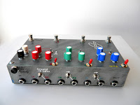 Tri Parallel Stereo FX Loop mixer