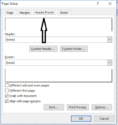 Memberi Tanggal dan Waktu Pada Header dan Footer di Microsoft Excel, membuat tanggal dan waktu pada header dan footer