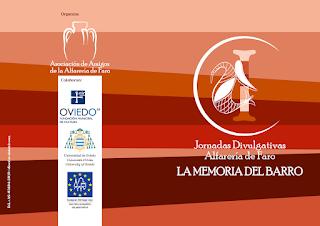 diptico de las Jornadas Divulgativas de la Alfarería de Faro