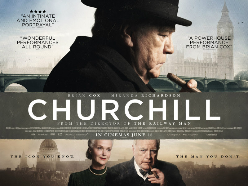 churchill 2017 film poster