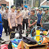 Antisipasi Bahaya Banjir, Polres Gresik Dirikan Posko Bencana di Ds Morowudi Cerme