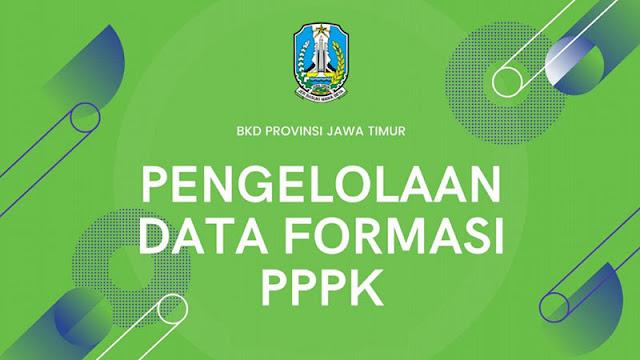 Formasi PPPK Jawa Timur Tahun 2021