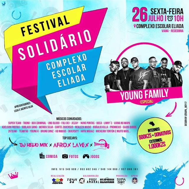 Eliada Apresenta: Fest Solidário Eliada (Saiba+) ML