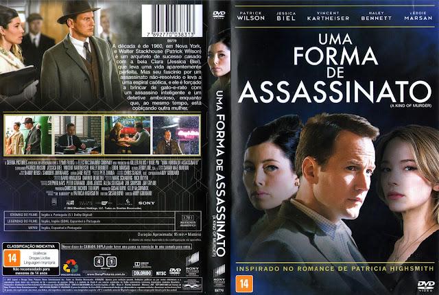 Capa DVD Uma Forma de Assassinato (Oficial)
