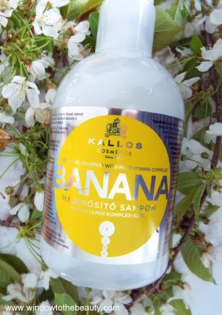Kallos Banana Fortifying Shampoo with Multivitamin Complex