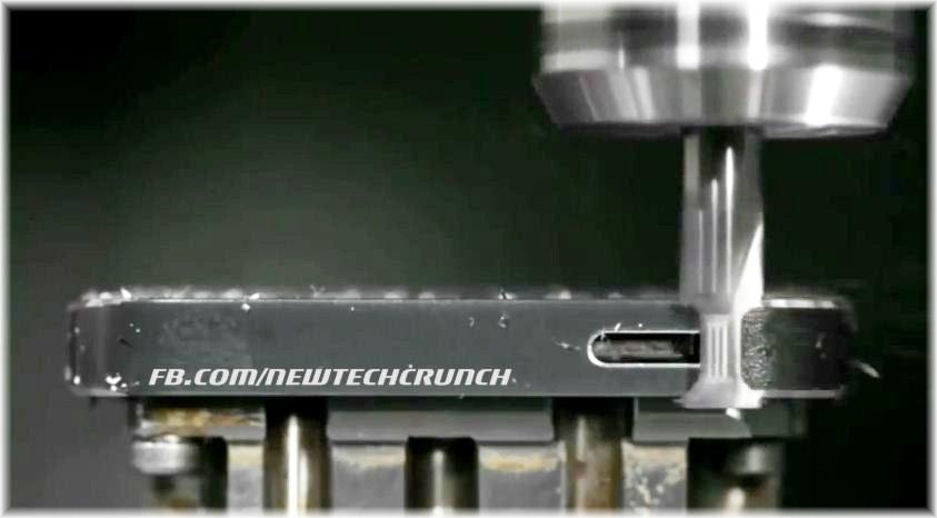 iPhone 5 aluminium cover machining
