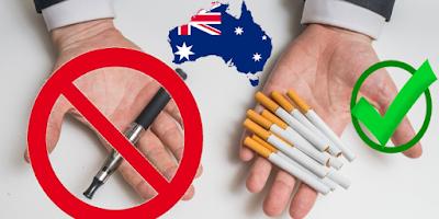 La politique anti-vape australienne bénéficie au tabagisme