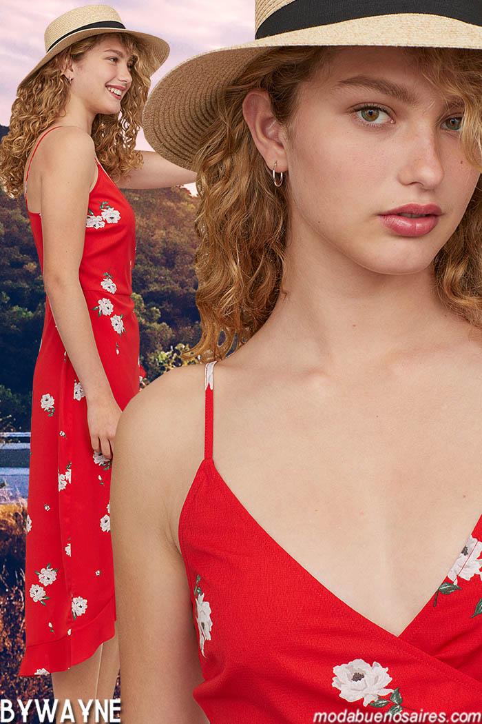 Moda estampas primavera verano 2020. Vestidos primavera verano 2020.