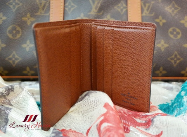 louis vuitton monogram canvas billfold lv wallet