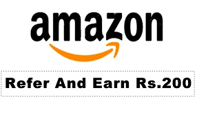 Amazon offer their refer and earn program.amazon terms and conditons is little different ,they will check the whole transcations Gift Cards will be automatically applied to your Amazon.in account approximately 30 days after an order for Rs.200 or more has shipped to a new Amazon member that you referred.