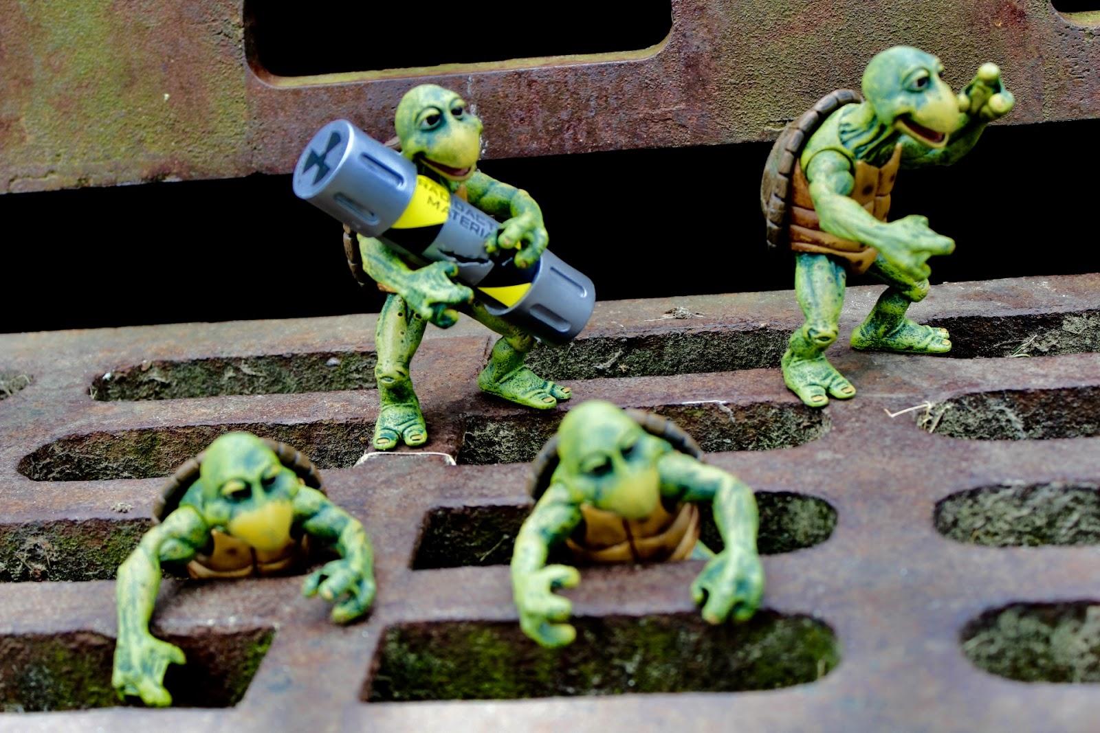 CobraShadowJoes: NECA Toys TMNT Movie Baby Turtles Accessory Pack
