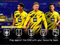 eFootball PES 2021 PPSSPP Borussia Dortmund Edition Best Graphics HD & Camera PS5 English Version CV2
