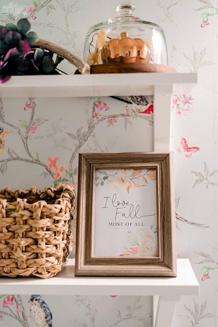 I Love Fall Most Of All Printable