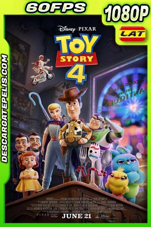 Toy Story 4 (2019) 1080p BDrip 60fps Latino – Ingles