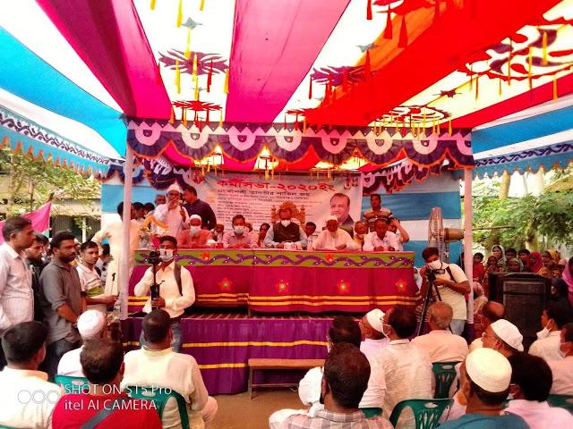 সিরাজগঞ্জে চালিতাডাঙ্গায় কর্মি সভা করেন নাসিম পুএ জয়